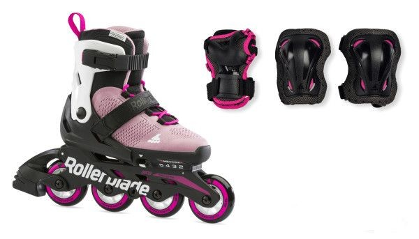 Rollerblade | Micro Combo G | Pink Weiss