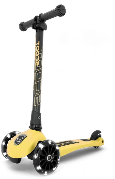Scoot and Ride | Highwaykick 3 LED | Lemon