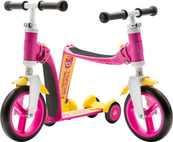 Scoot and Ride | Highwaybaby Plus | Pink-Gelb