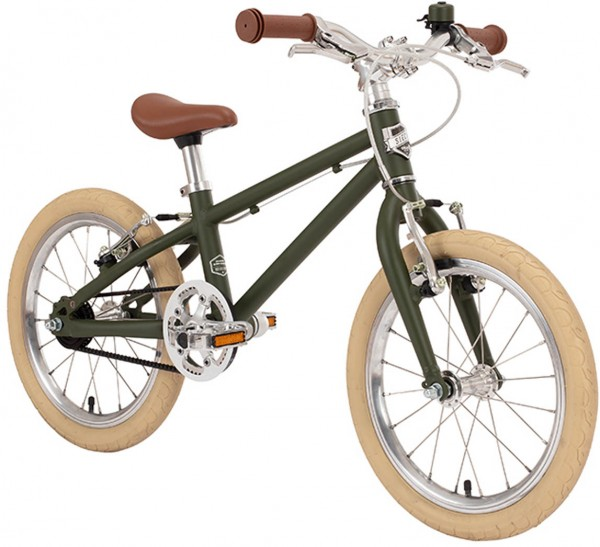 Siech Cycles | Kindervelo 16-Zoll | army green