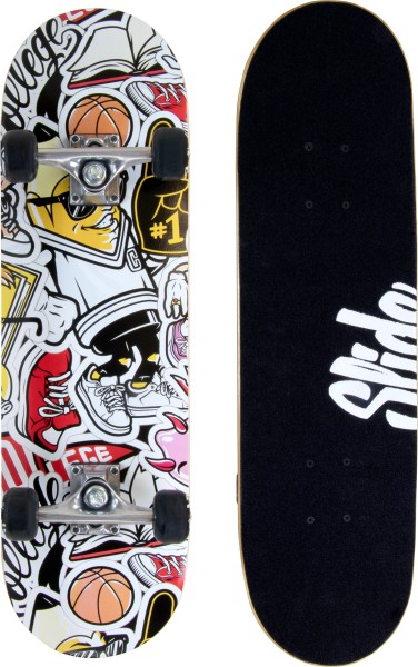 Slide | Skateboard | 28-Zoll | 80th