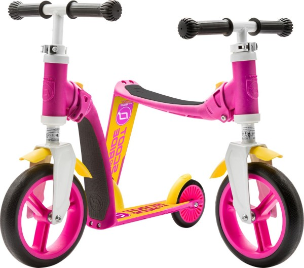 Scoot and Ride | Highwaybaby | Pink-Gelb