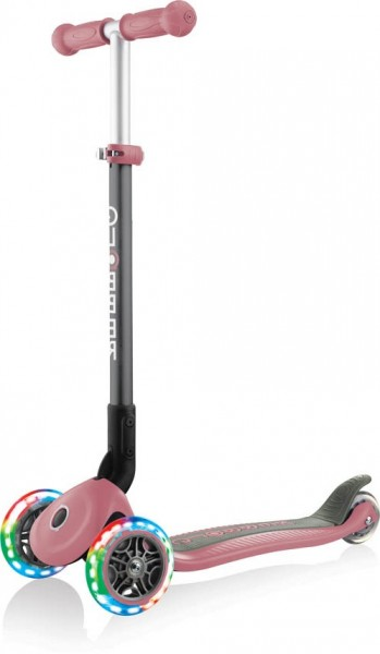 Globber   Primo Foldable Lights   Anodized T-Bar   Pastel pink
