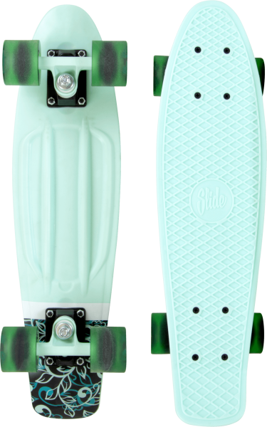 Slide | Cruiser | 22-Zoll | Green Flower